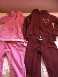Girls size 8 tracksuits