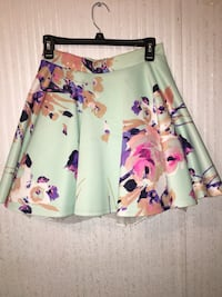 White, pink, and purple floral skirt El Paso, 79938