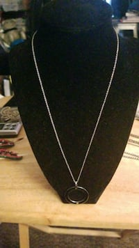 Diamond,gold and stainless steel necklace Hyattsville, 20784