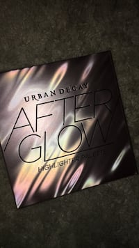 Urban decay after glow palette  Ashburn, 20148