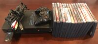 Sony PlayStation 2 PS2 with wireless remote and 15 games $100 or Best Offer Fremont, 94555