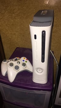 white Xbox 360 console with controller Salt Lake City, 84103