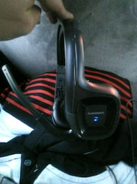 black and red corded headphones North Hollywood, 91606
