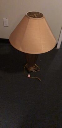 brown and white table lamp 124 mi