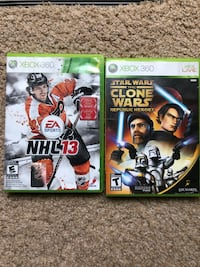two Xbox 360 game cases Oakville, L6M 2P6