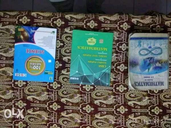 Class9th books of maths and science..new condition