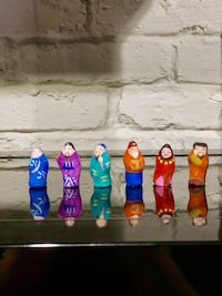 Collectible Mini Asian Figures Tysons