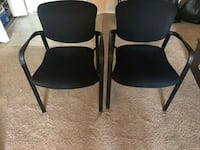 Two black chairs Laurel, 20707
