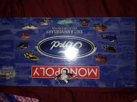 Ford monopoly game