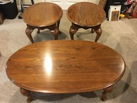 Wood coffee table set Golden Valley, 55427