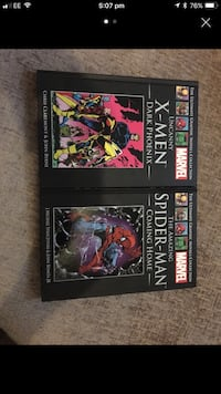 Uncanny X-men dark Phoenix; The Amazing Spider-man Dark Phoenix and Coming home books screenshot Chesterfield, S43 1HS