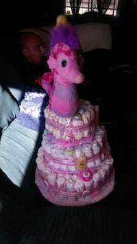 I make Diaper cakes msg me for pricing info