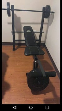 black and gray exercise equipment El Paso, 79904