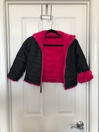 Girls Reversible Jacket, Size 6x Germantown