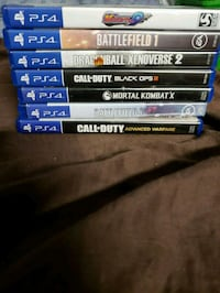 PS4, XBOX ONE, WII, & GameCube Games 4 Sale/Trade 3730 km