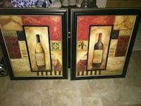 Set of 2 very nice decorative hanging pictures Pineville, 71360