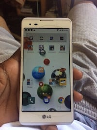 White LG android smartphone High Point, 27260
