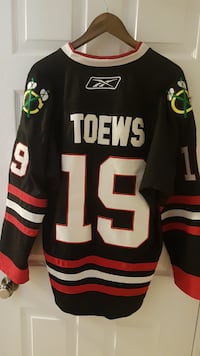 Toews 2010 Stanley Cup Jersey - Black Guelph