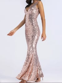 Mermaid style rose gold dress ,scroll down to view more colors Brampton, L6Z 0B4