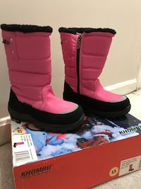 KHOMBU NEW GIRLS SNOW BOOTS