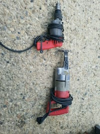 red and black corded power tool Edmonton