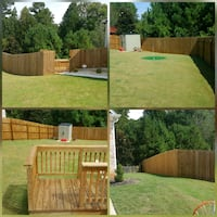 Deck & Fence pressure washing & staining package d Duluth