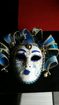 blue and white clown mask Kitchener, Ontario, N2R 1T8