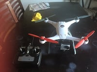 white and red quadcopter drone Ceres, 95307