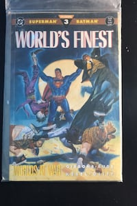 Batman and Superman Worlds Finest Issue 3 October 1990 Mississauga, L5N 2A7