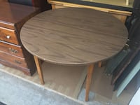 Wood Round Table - Will Deliver Sterling, 20164