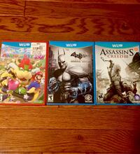 Wii U games $20 for all 3 Syracuse, 13219