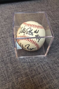 Autographed Baseball from Montreal Expos