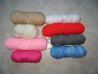 Yarn (assorted and package opened)