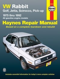 VW Repair Book Edmonton, T6L 6N2