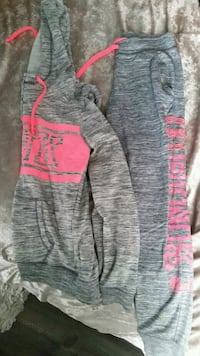 gray and pink Pink by Victoria's Secret sweater District Heights, 20747
