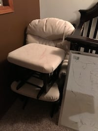 baby's white and black bassinet Calgary, T3J 2P5