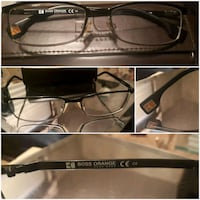 black framed sunglasses with case 3500 km