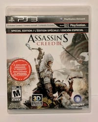 Assassin's Creed III For Ps3 Markham