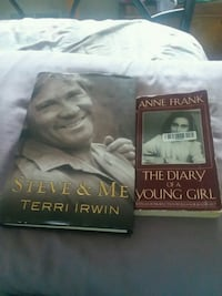 two assorted books