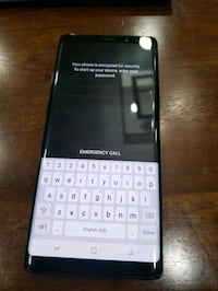 Samsung note 8 like new