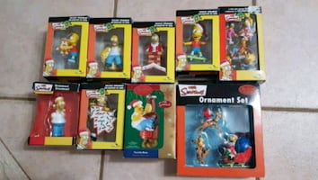 Christmas Ornaments - Simpsons Christmas Set