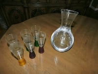 Wine decanter & shot glasses Baltimore, 21229