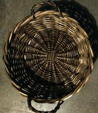 High End Wicker Basket with Handles