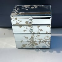 Glass jewelry box Centereach