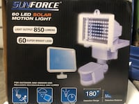 Sunforce 60 LED solar motion light costco Vancouver, V5R 5H3