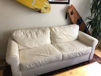 Crate & Barrel Pull Out Bed Couch