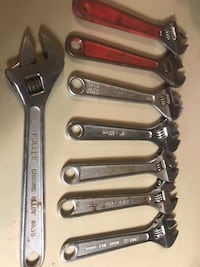 8 adjustable wrench  Washington, 20024