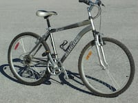 gray and black hardtail mountain bike Mississauga