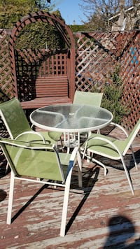 5 piece patio table