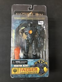 "Jaeger Gypsy Danger Anchorage Attack NECA Reel Toys 7"" inch"